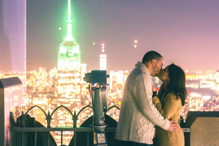 Wedding Proposal Ideas in The Empire State Building in NYC
