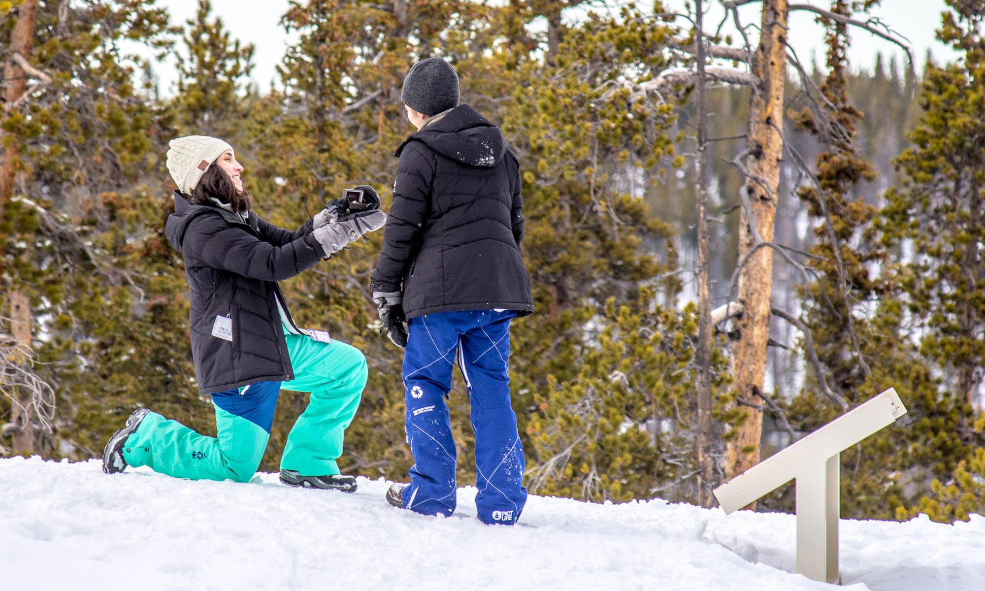 Marriage Proposal Ideas in Breckenridge, CO