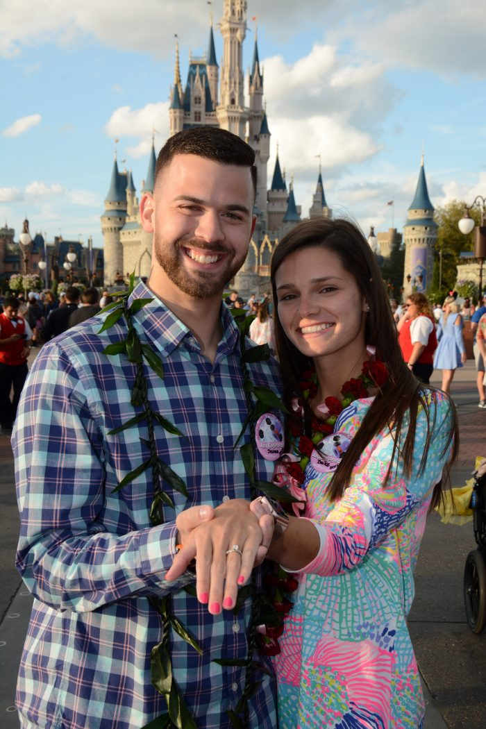 Bailee's Proposal in Walt Disney World, Polynesian Resort beach
