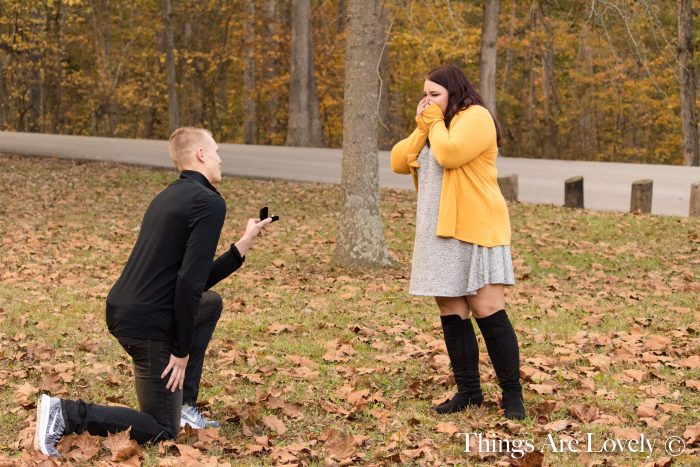 Shelby's Proposal in Clark State Forest, Henryville, IN