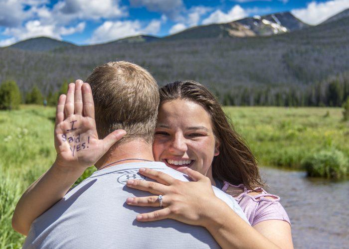Marriage Proposal Ideas in Rocky Mountain National Park (Colorado, USA)