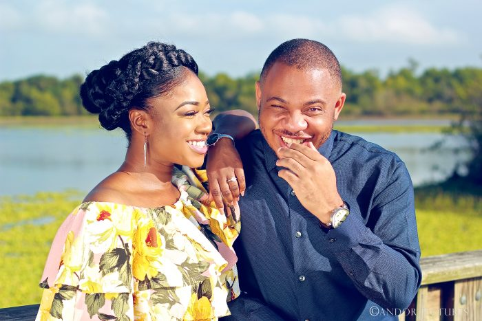 Abimbola C and Joel's Engagement in Houston, Texas