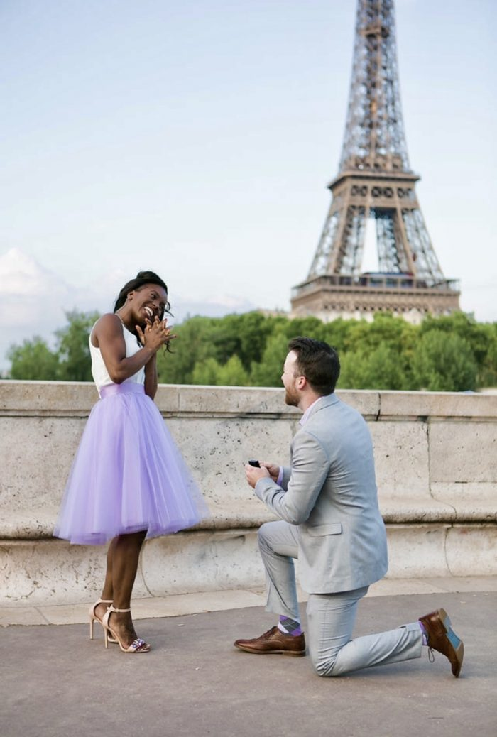 Wedding Proposal Ideas in Paris France