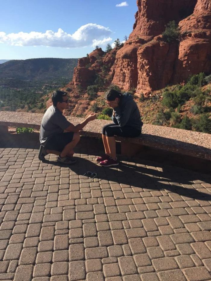 Proposal Ideas Sedona Arizona, at the chapel on the Hill