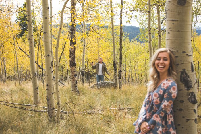 Engagement Proposal Ideas in Kenosha Pass, Colorado