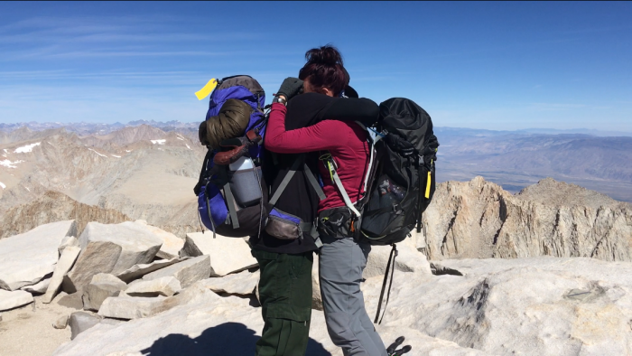 Engagement Proposal Ideas in On top of Mt. Whitney, the highest mountain in the contiguous US.