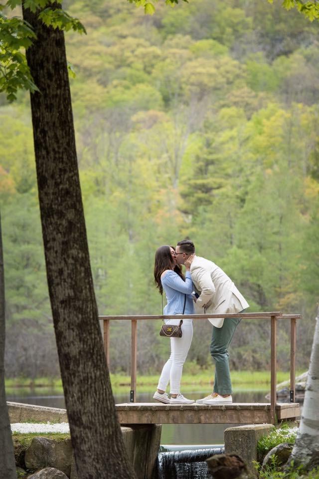 Angelica's Proposal in Equinox Pond in Manchester Village, Vermont