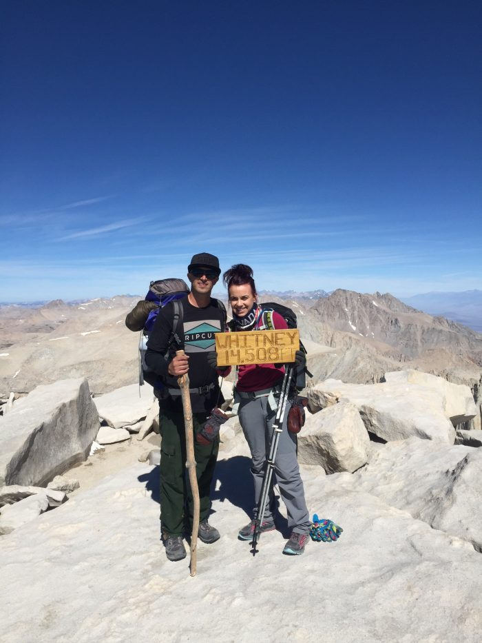 Proposal Ideas On top of Mt. Whitney, the highest mountain in the contiguous US.