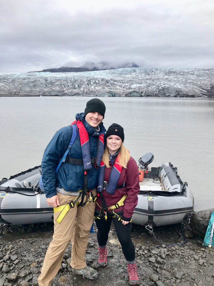 Braxton Mckoy and Lauren's Engagement in Iceland