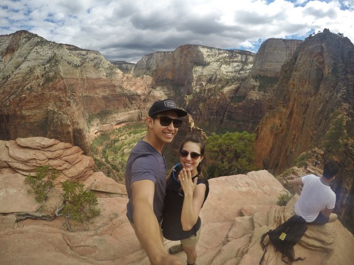 Where to Propose in Zion National Park, Utah