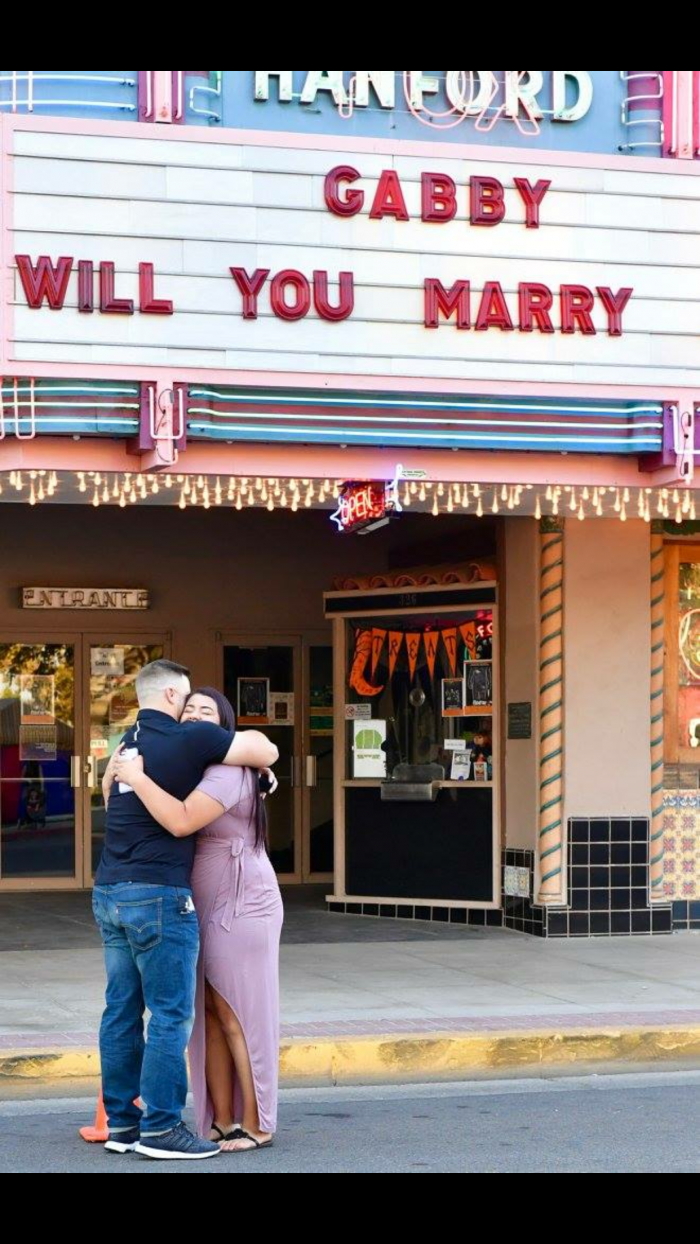 Where to Propose in Hanford, Ca