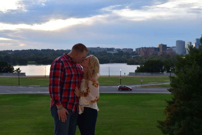 Ashley's Proposal in Lincoln Memorial in Washington DC