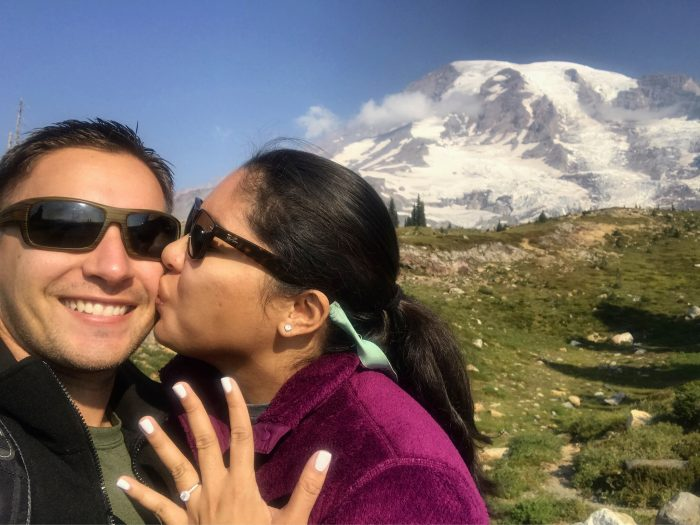 Alex and Dylan's Engagement in Paradise at Mt.Rainier National Park