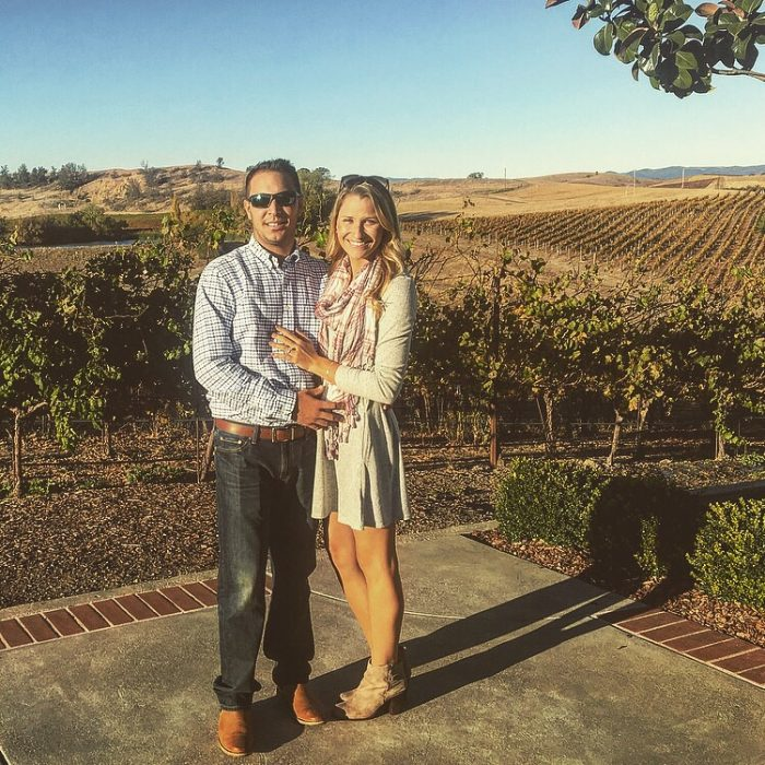 Where to Propose in Domaine Carneros Vineyard, Napa California
