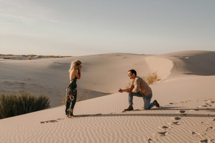 Wedding Proposal Ideas in Monohans Sandhills