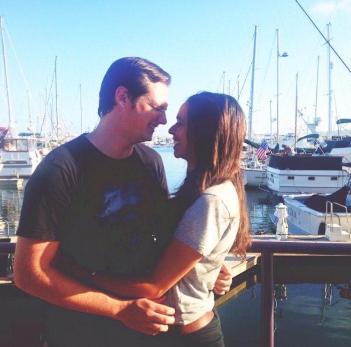 Rachel and Braedon's Engagement in Monterey Bay Aqarium