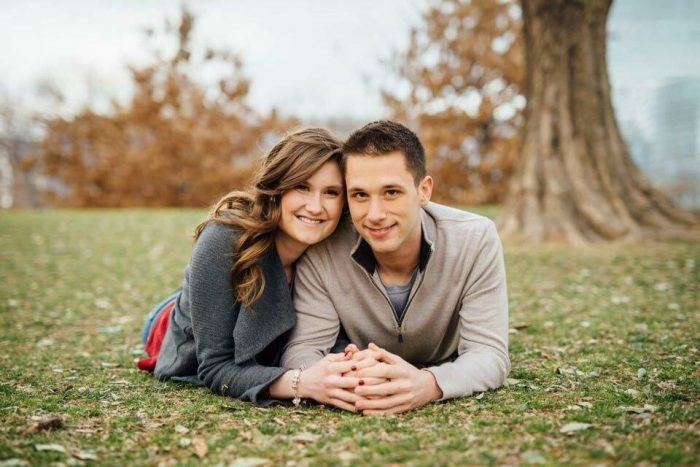 Kelsey and Austin's Engagement in The Escape OKC
