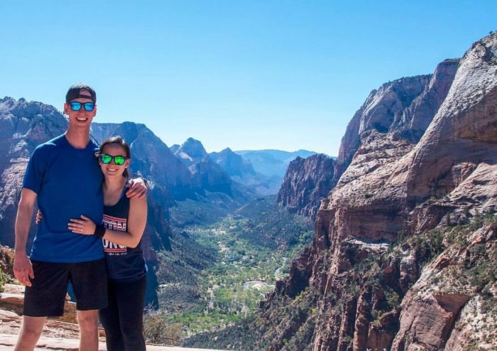 Marriage Proposal Ideas in Zion National Park