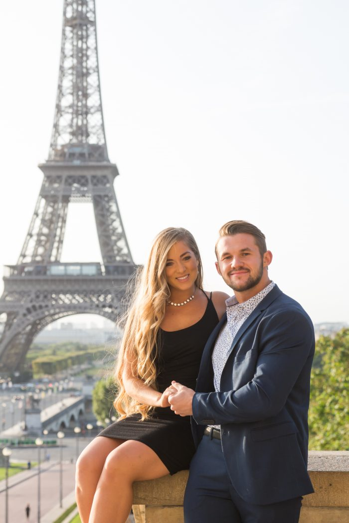 Marcin and Lisette's Engagement in Paris , France
