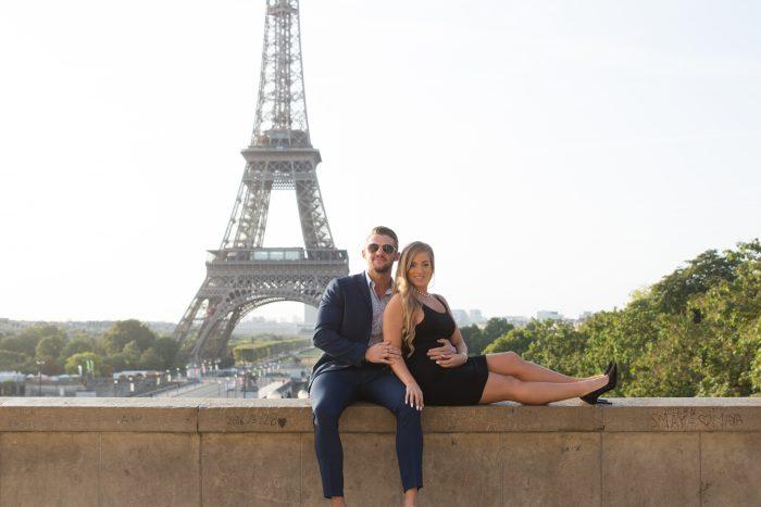 Marcin's Proposal in Paris , France