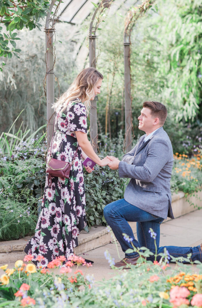 Where to Propose in Longwood Gardens