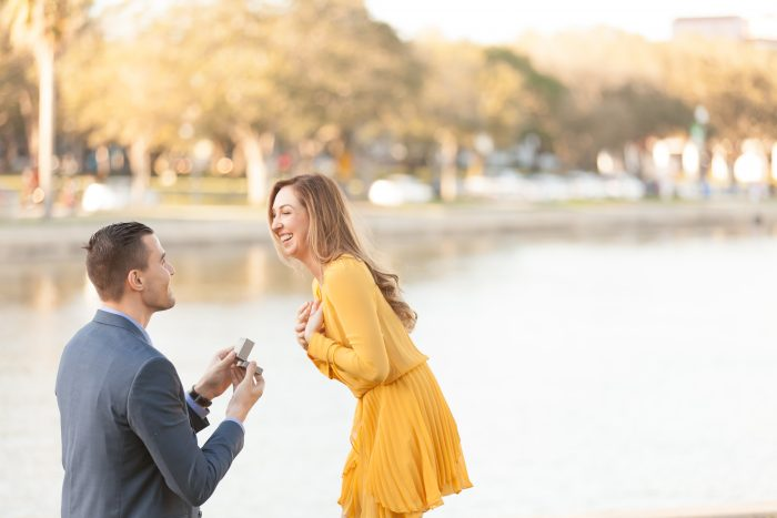 Marisa's Proposal in St. Petersbug, FL