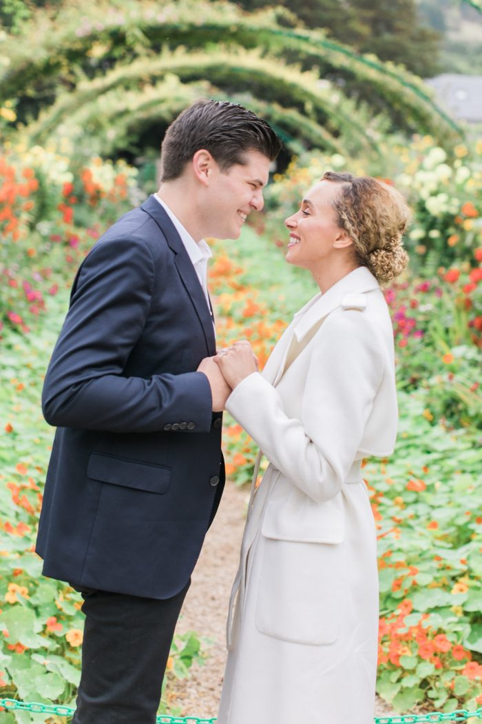 Engagement Proposal Ideas in Monet's Garden Giverny France