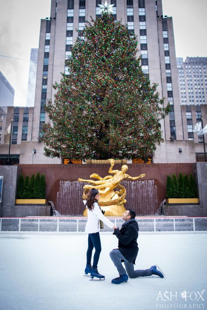 Engagement Proposal Ideas in New York City - Rockerfeller Centre