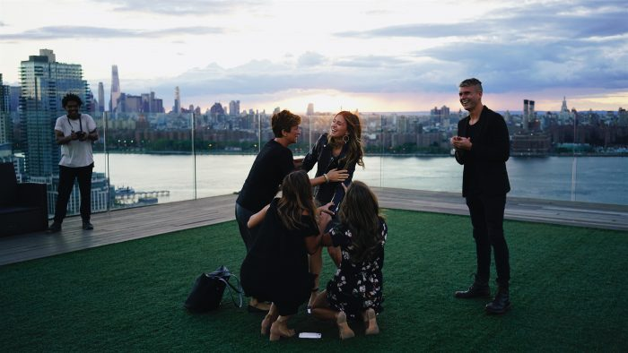 Lauren and Sean's Engagement in Williamsburg, Brooklyn