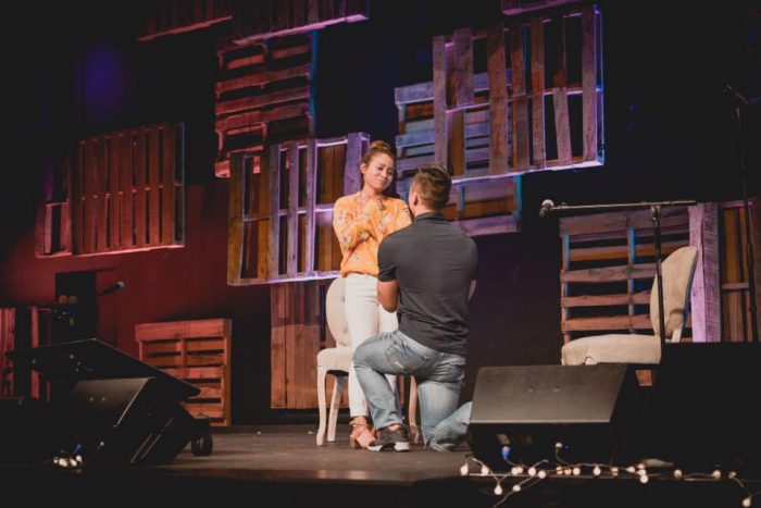 Jennie's Proposal in Fellowship Monrovia