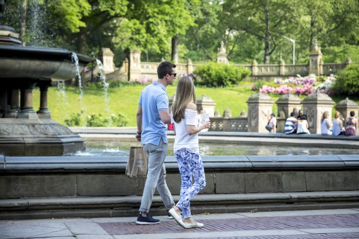 Wedding Proposal Ideas in Bethesda Fountain in Central Park, New York, NY