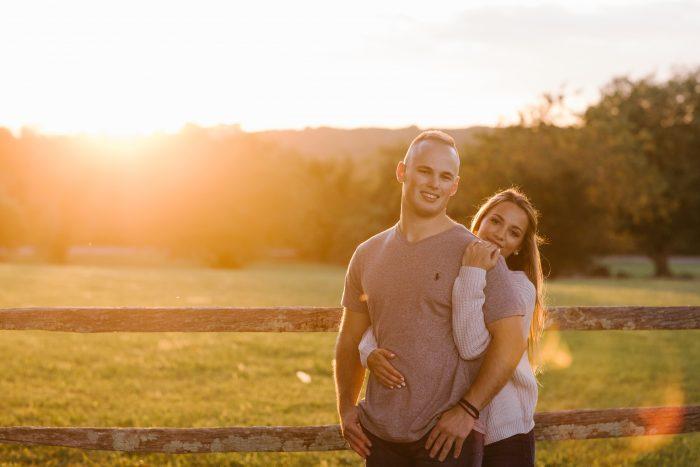 Danielle's Proposal in Beavertail State Park, Jamestown, RI