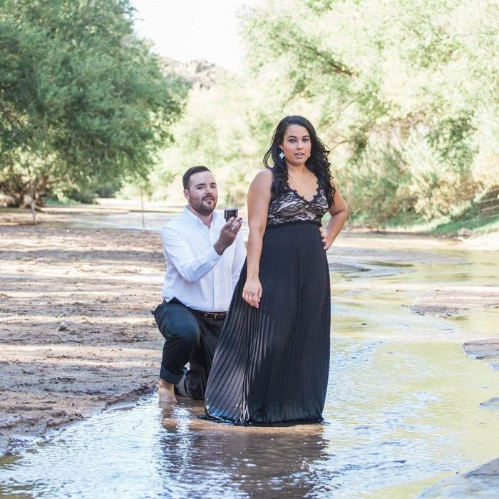 Wedding Proposal Ideas in Hassayampa River, Wickenburg, AZ