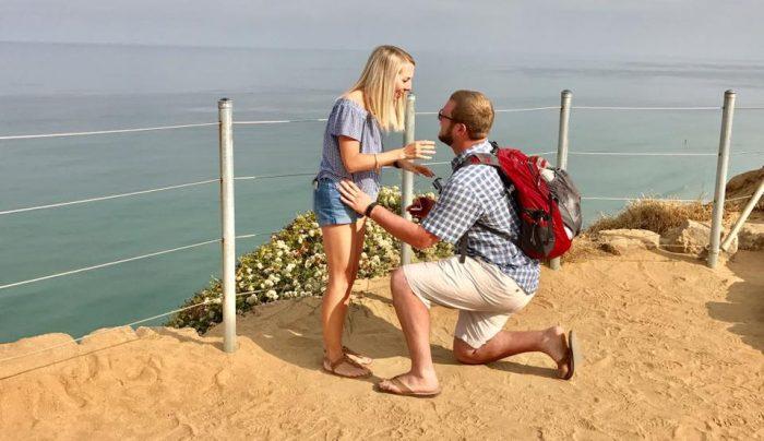 Liz and Matt's Engagement in San Diego, CA
