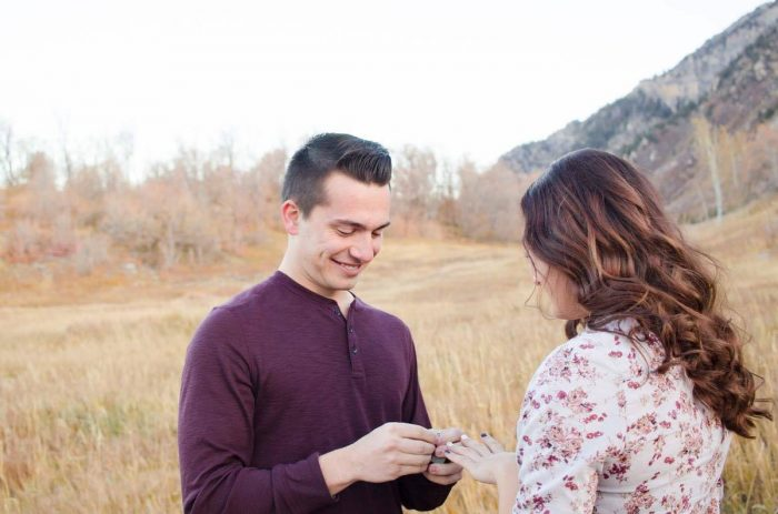 Mckenzie and Graeme's Engagement in In the Canyon