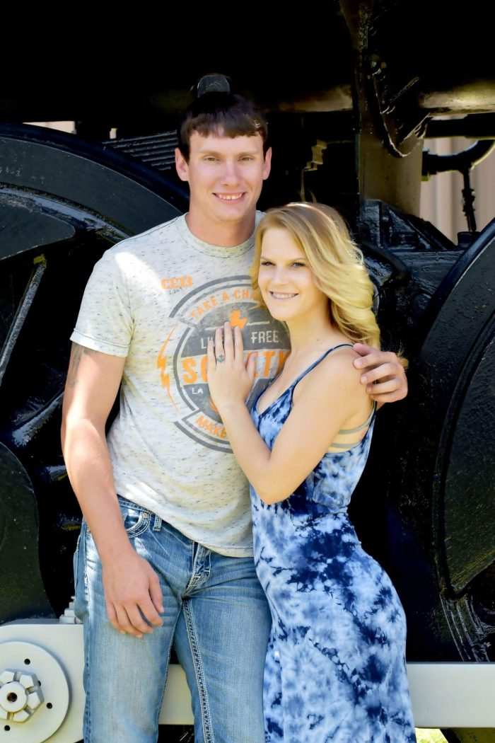 Cori and Nathan's Engagement in Fort Smith, Arkansas