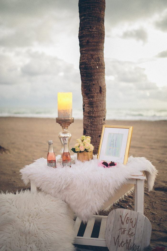 Marriage Proposal Ideas in Hollywood Beach in Fort Lauderdale, Florida