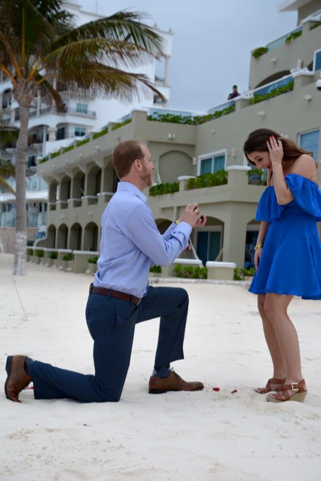 Stacy's Proposal in Cancun, Mexico