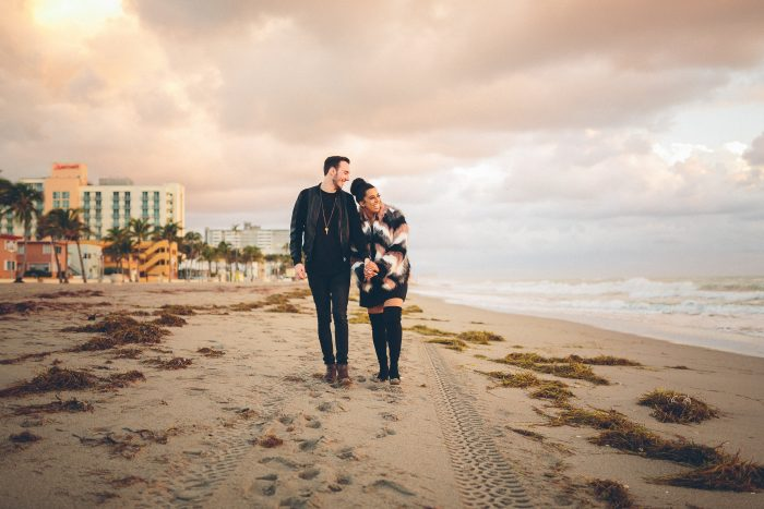 Devyn Marie and Brendan's Engagement in Hollywood Beach in Fort Lauderdale, Florida