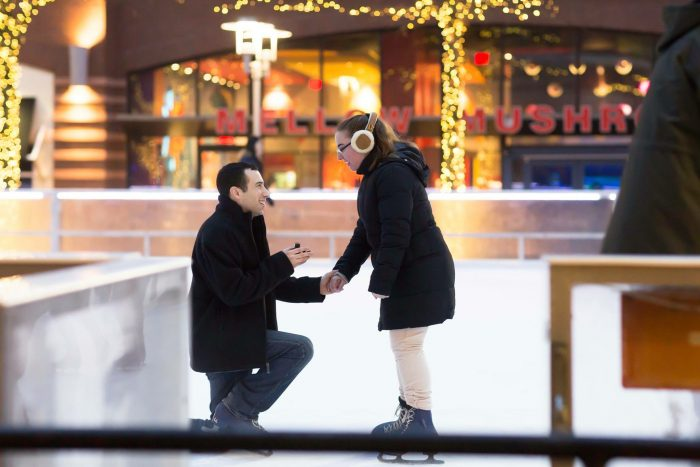 Marriage Proposal Ideas in Ice skating rink in Rockville, MD