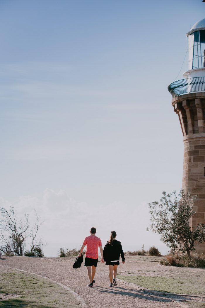 Wedding Proposal Ideas in Palm Beach Lighthouse, Sydney Australia