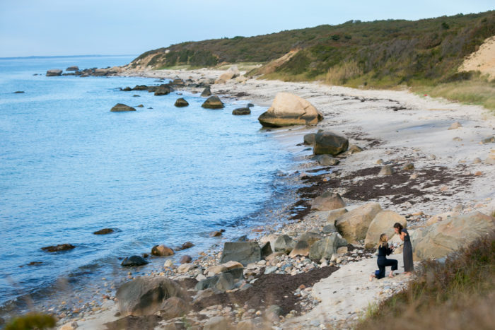Engagement Proposal Ideas in Chilmark, Massachusetts (Martha's Vineyard)