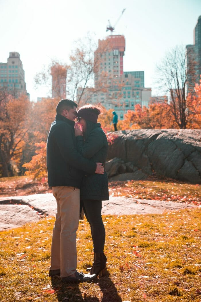 Marriage Proposal Ideas in Central Park- NYC