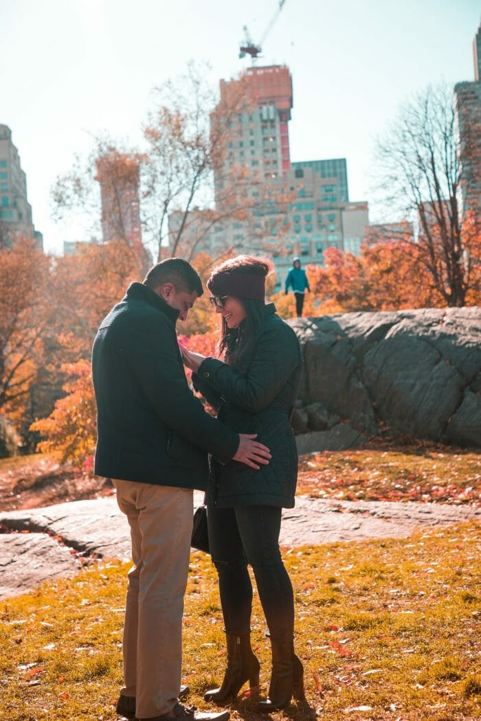 Where to Propose in Central Park- NYC