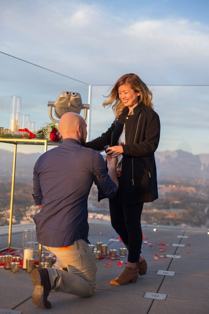 Marriage Proposal Ideas in In downtown Los Angeles