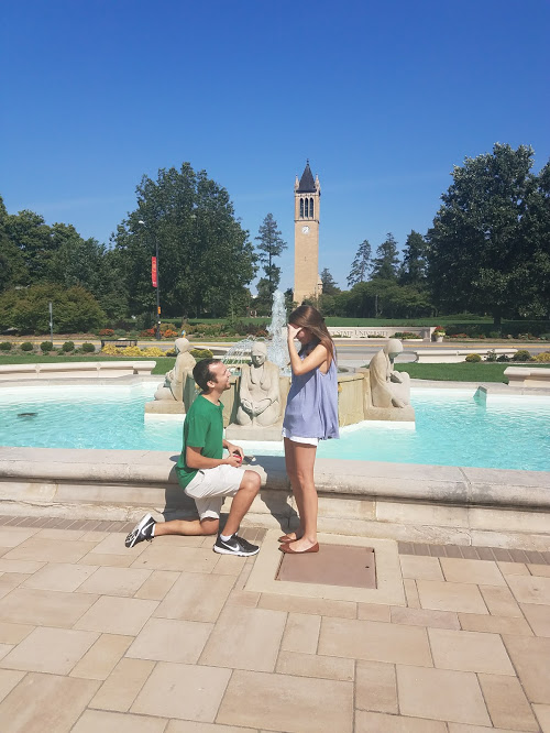 Rebecca's Proposal in Iowa State University