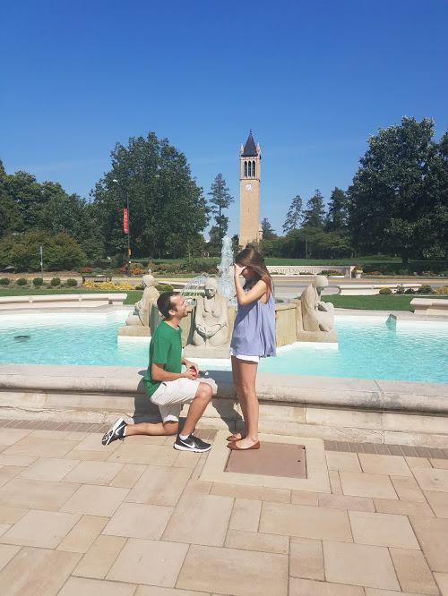 Rebecca's Proposal in Iowa State University