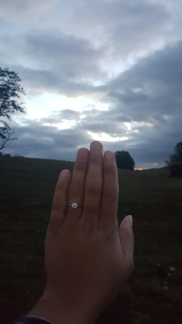 Kayla's Proposal in Marion, VA