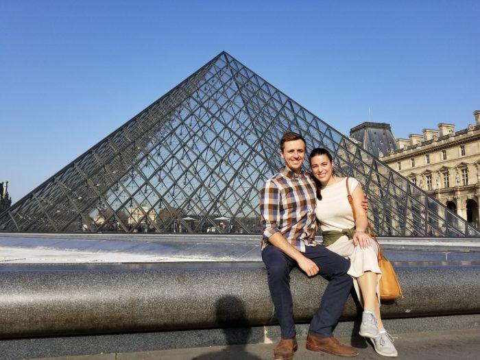 Morgan's Proposal in Paris, France
