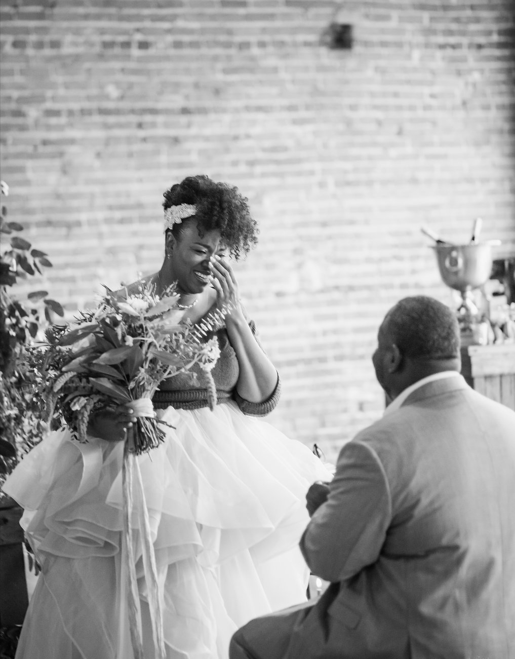 Engagement Proposal Ideas in Cross + Main in Raleigh North Carolina